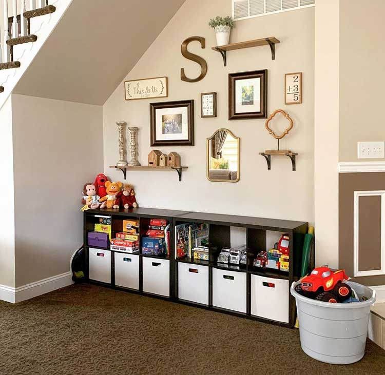 Creative Playroom Storage For Small Spaces Within Your Home