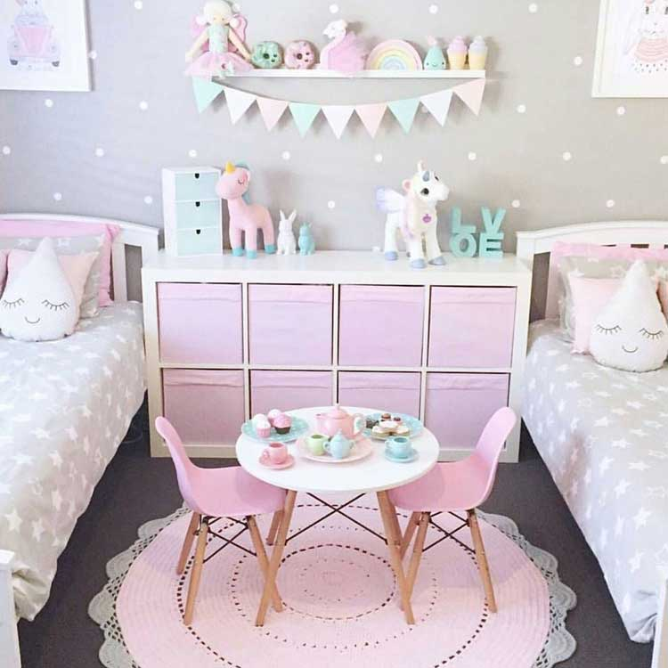 Cute Toy Storage For Little Girls