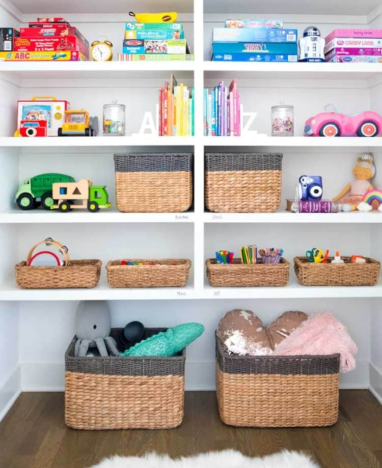 Easy DIY Closet Organizational System
