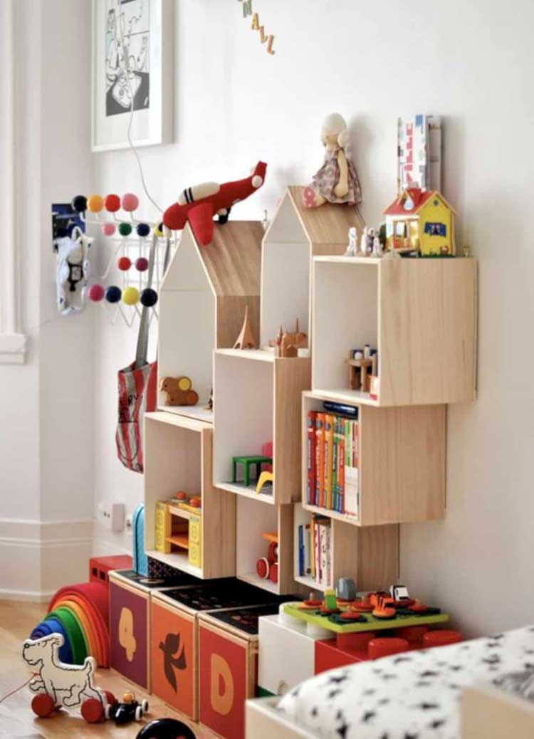Make Charming and Practical DIY Shelving