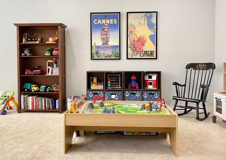 Mix Up Your Organizer For The Playroom