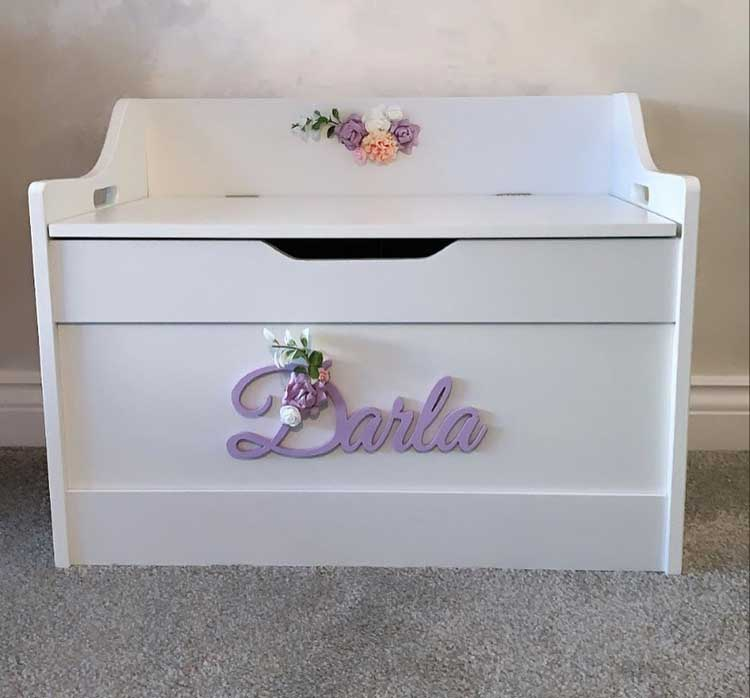 Personalized Toy Boxes Help Kids Feel Special
