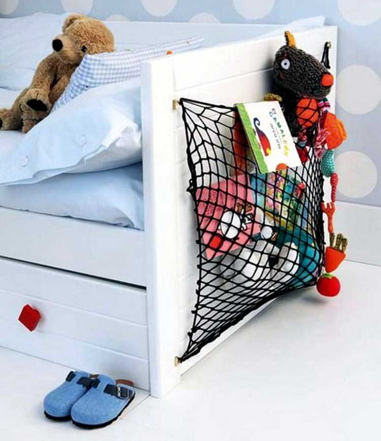 Simple Bed Sling For Hanging Storage