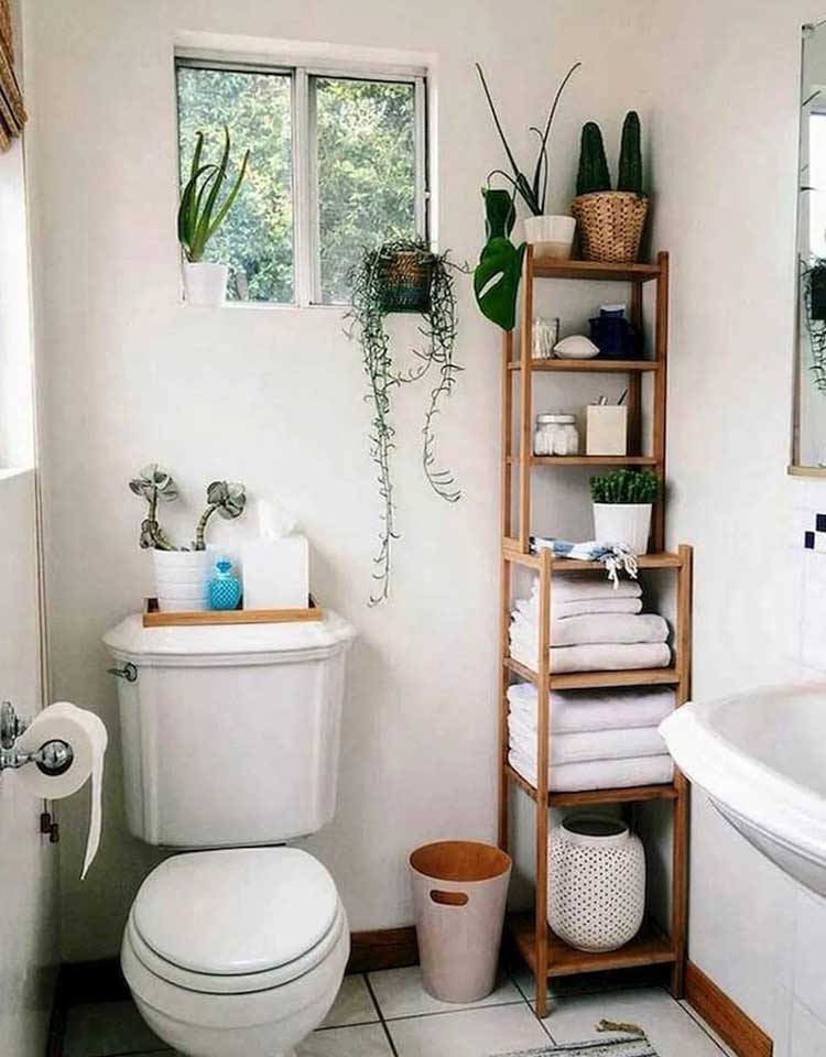 Towel Storage and Organizer For Small Bathroom