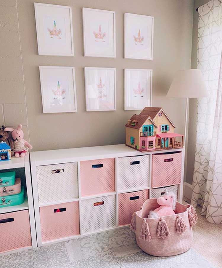 Toy Storage For Toddler Girls