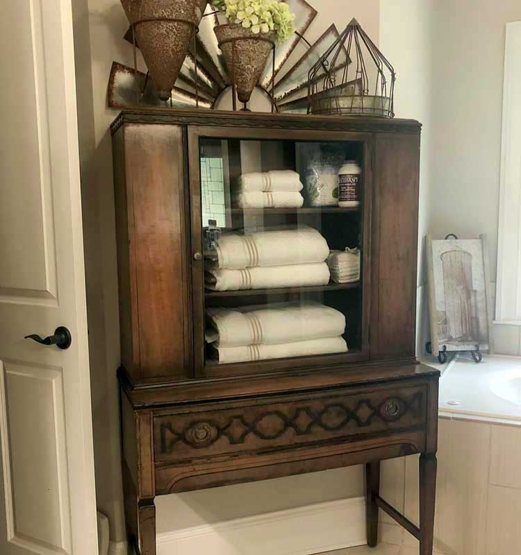 Vintage Furniture Offers Storage with Character