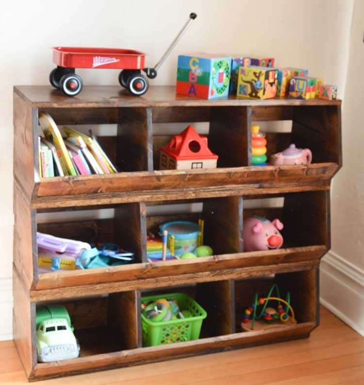 Vintage Organizer For Baby and Toddler Toys
