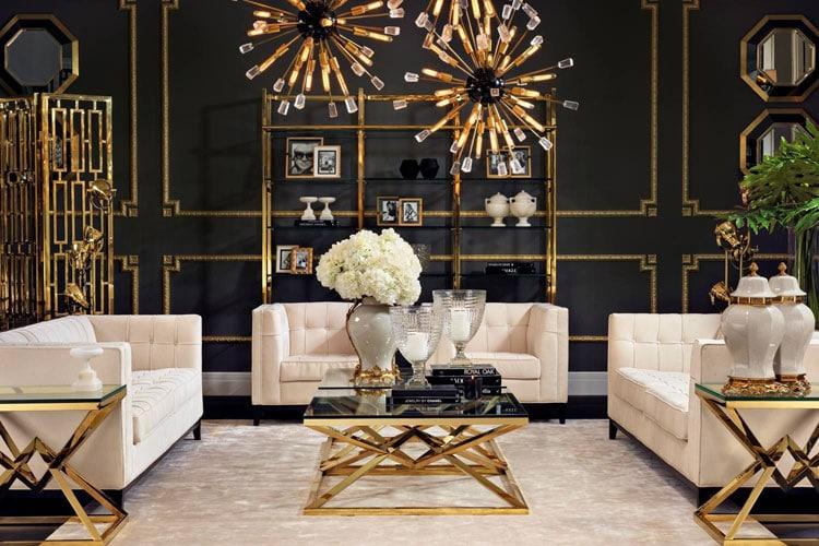 Hollywood Regency Home Decor Style