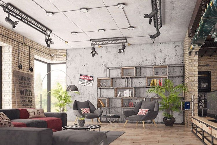Industrial Decor Style