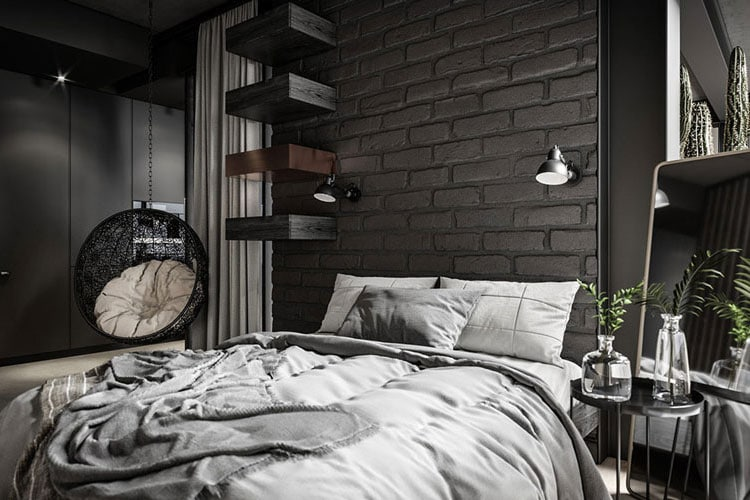 Industrial Style Bedroom Decor