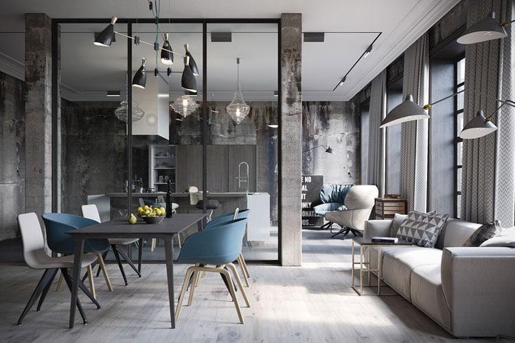 Industrial Style Flooring