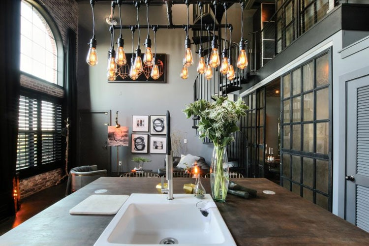 Industrial Style Lighting Fixtures