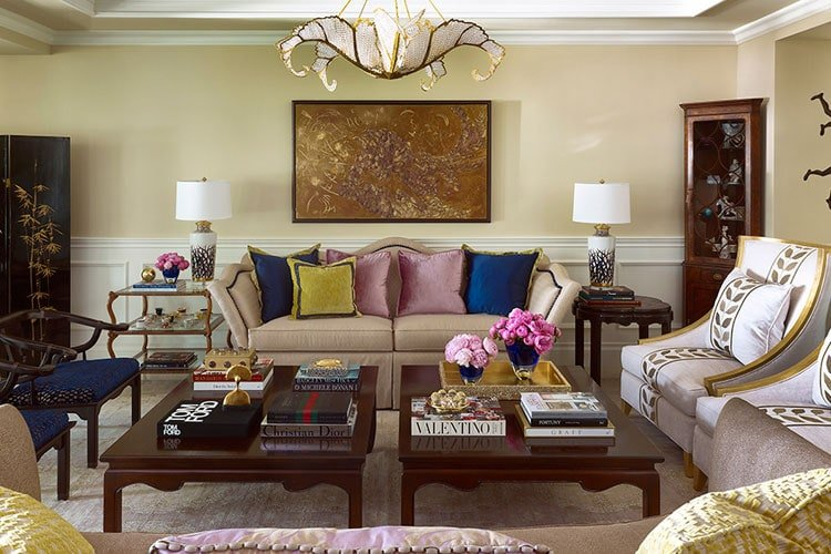 Transitional Interior Design Colors