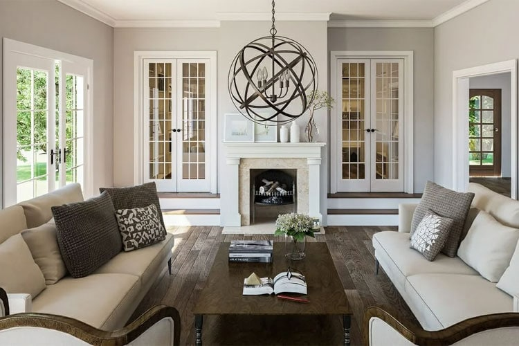 Transitional Interior Design Home Style