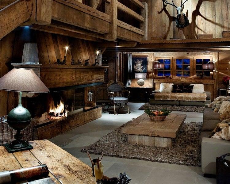 Log Cabin Floors