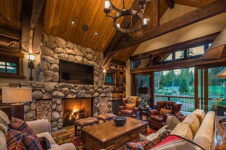 Log Cabin Interior Design Ideas Modern Rustic Small Cabin Decor