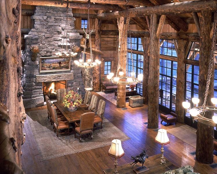 Log Cabin Lighting