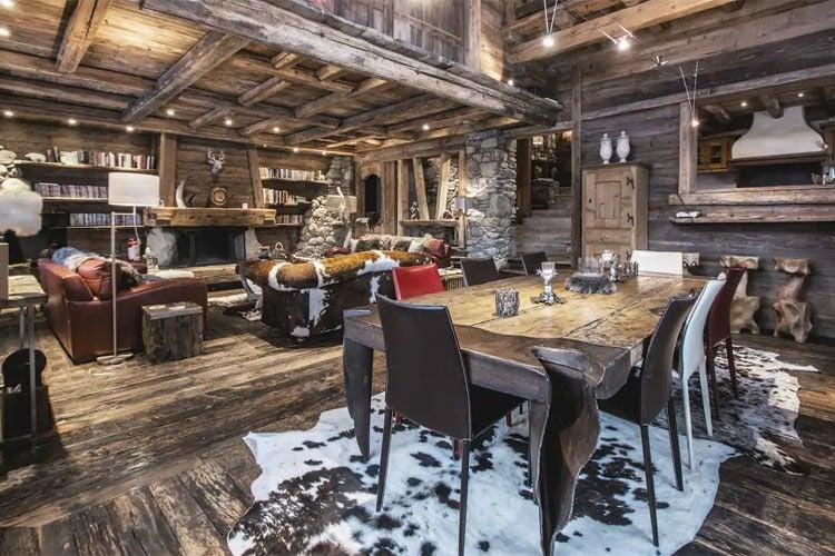 Rustic Cabin Interior Ideas