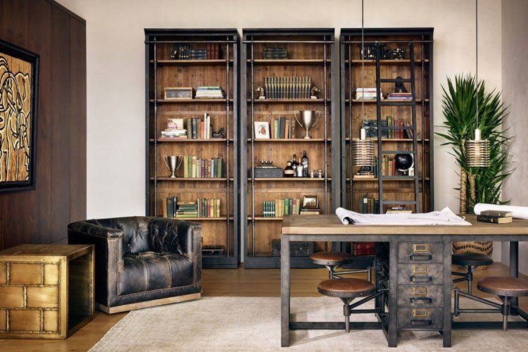 Awesome Home Office Space For Guys