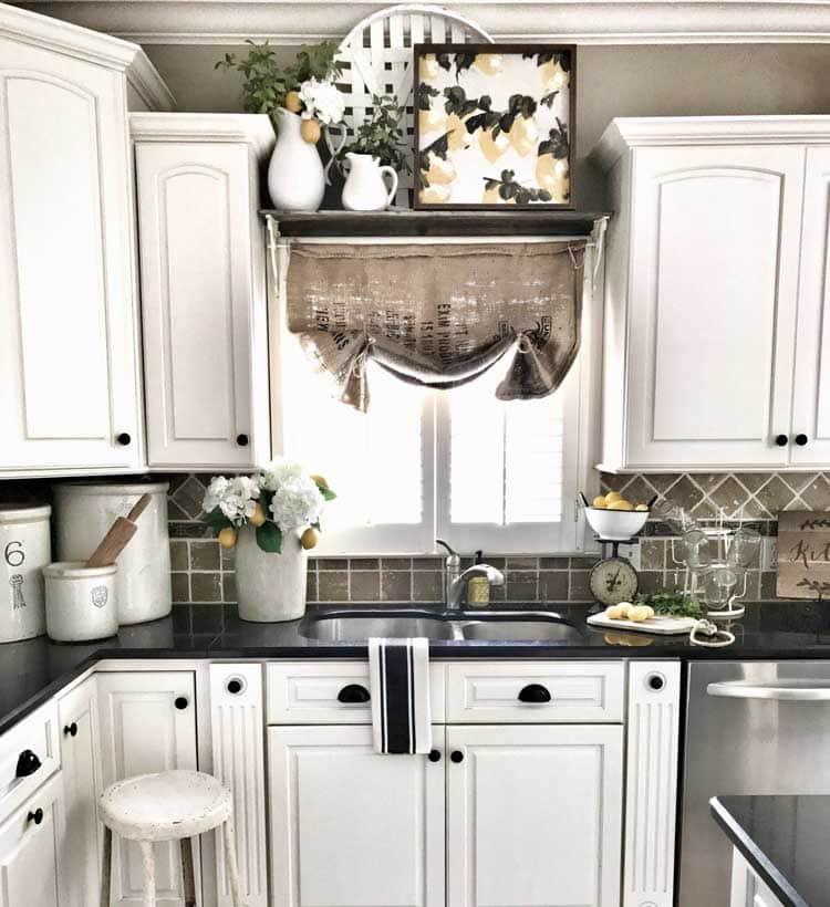 Charming White Kitchen