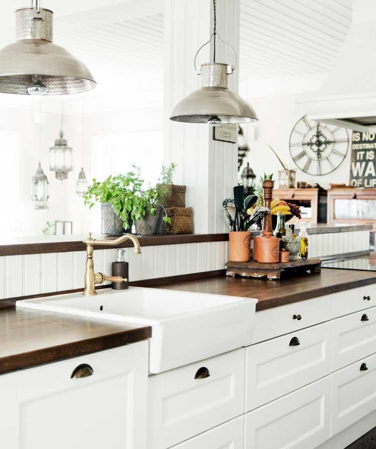 Gorgeous Modern Farmhouse Style Kitchen