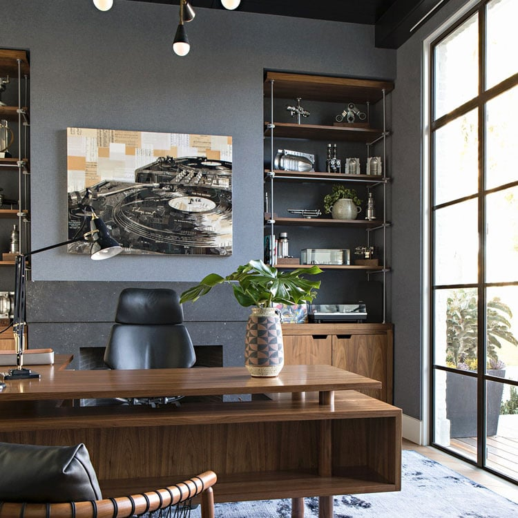 High-End Industrial Interior For Work Area