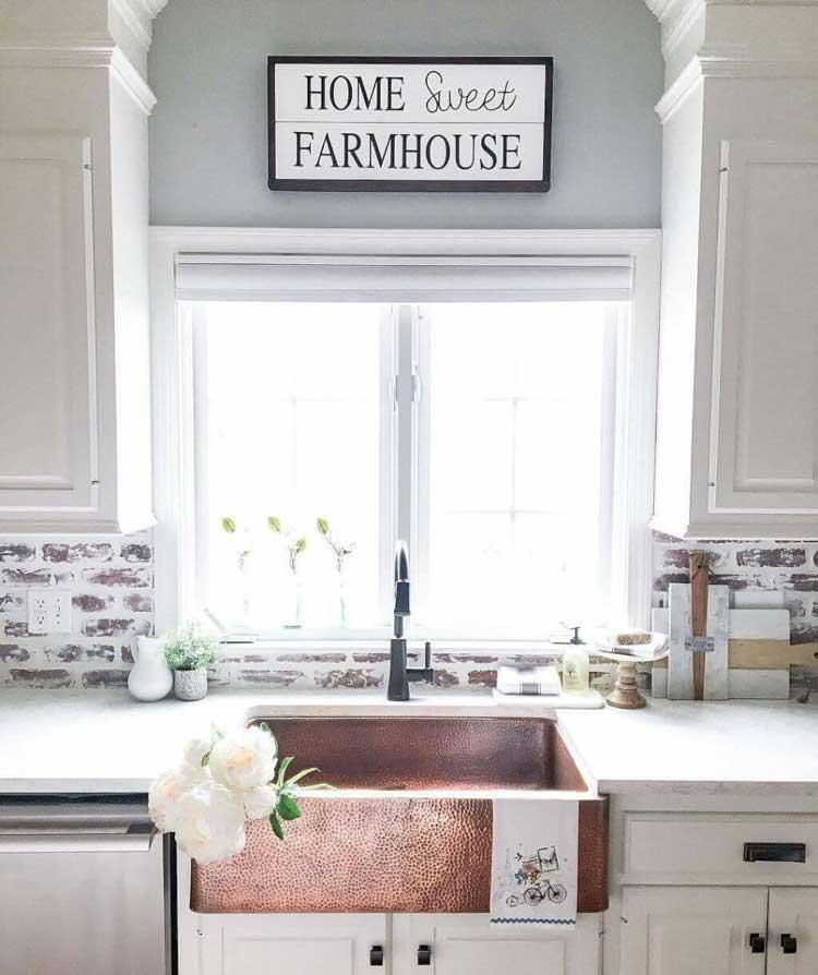 Modern Chic Farmhouse Kitchen