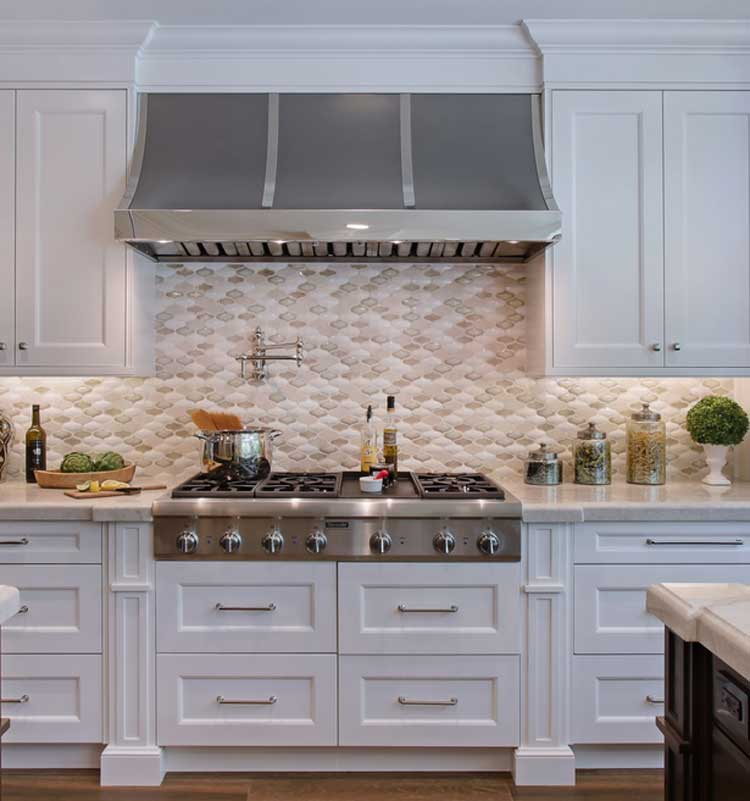 Modern Farmhouse Kitchen Backsplash Design