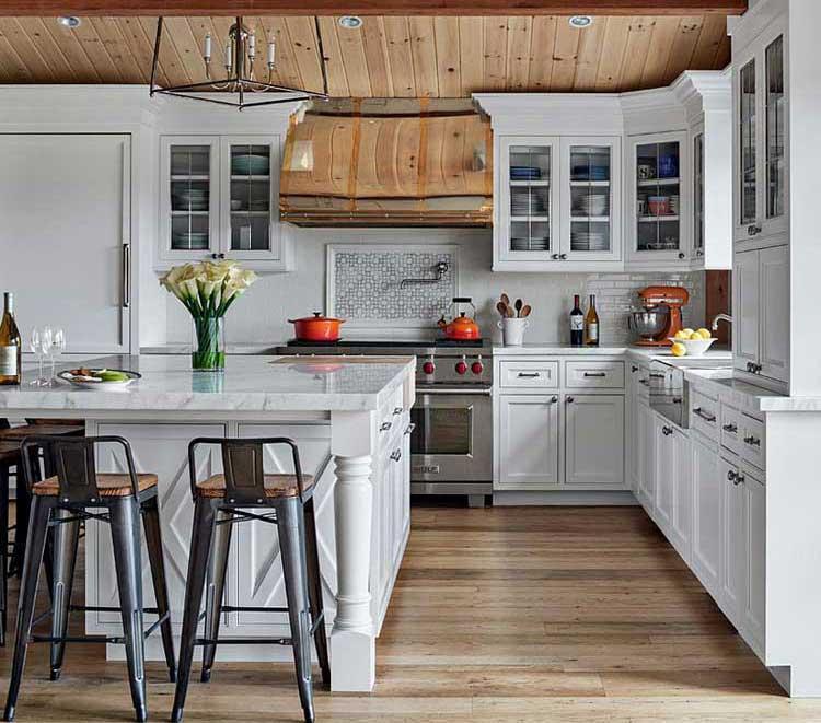 Modern Rustic Kitchen Design