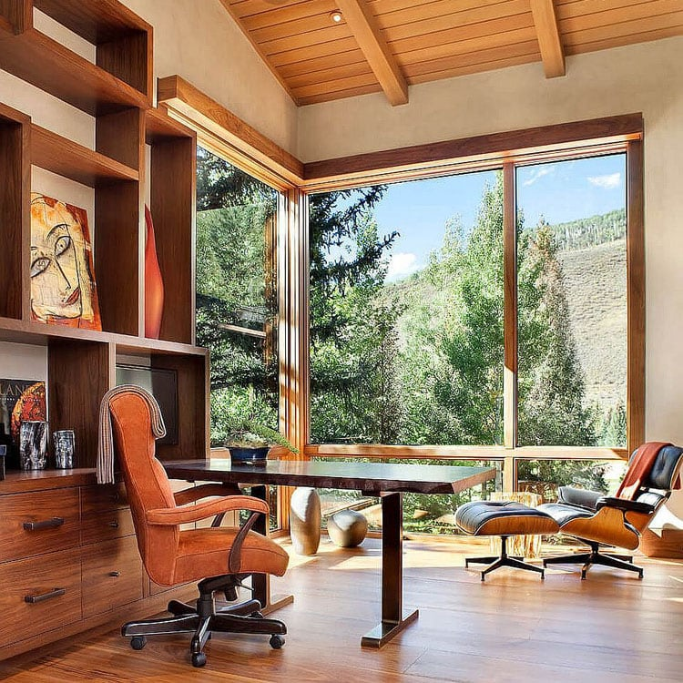 Office At Vacation Home