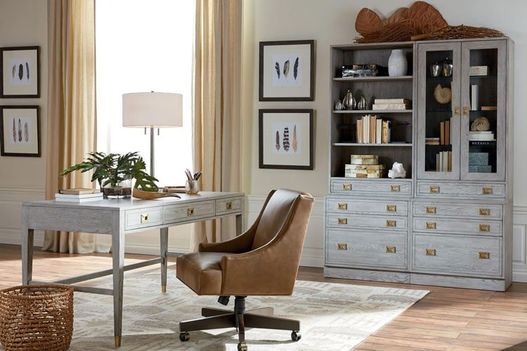 Open Office Space with Minimal Styling