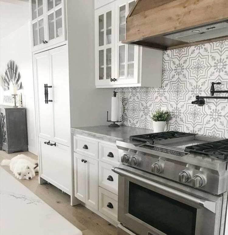 Unique Backsplash Tile Patterns