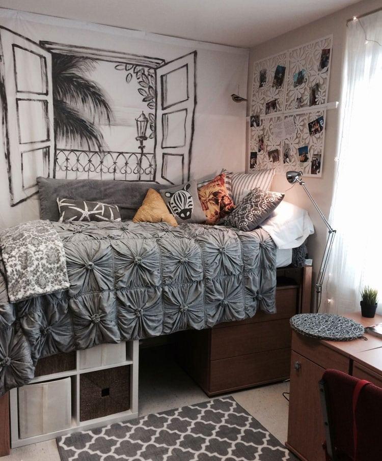 Adorable Dorm Room Setup Ideas