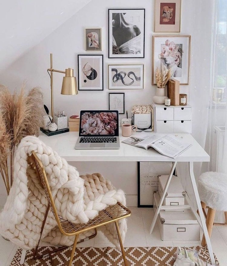 Cute Dorm Desk
