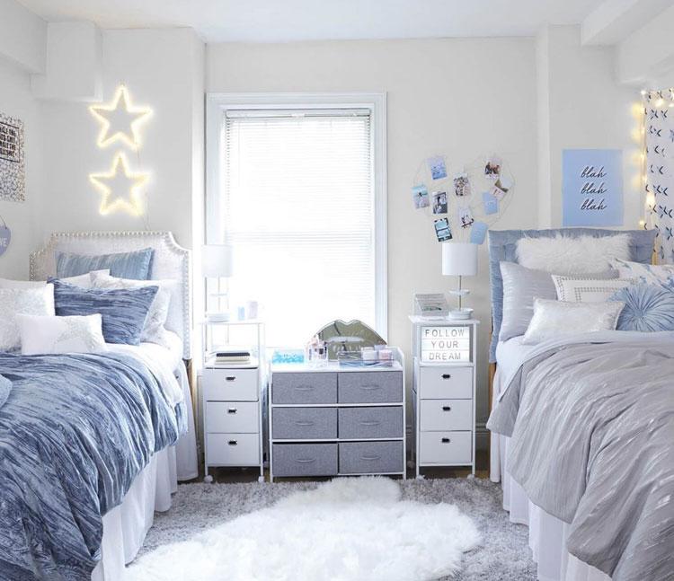 Dorm Decor with Natural Light