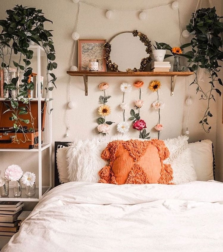 Floral College Room Inspiration Ideas