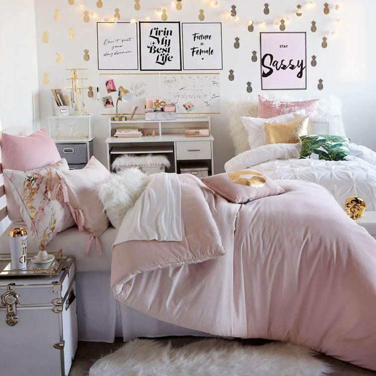 Modern Trendy Dorm Room Decorations