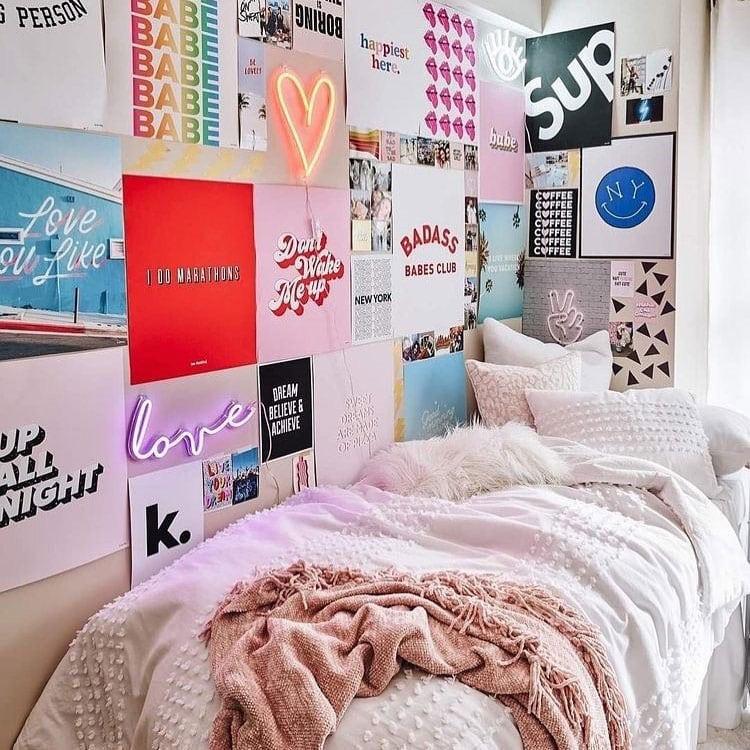Simple Dorm Room Decor