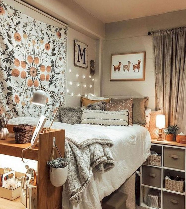 Warm and Cozy Bed with Storage