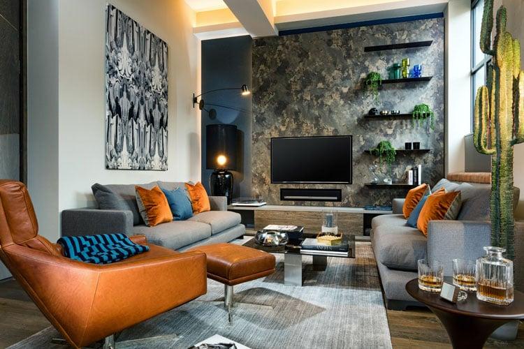 Cool Bachelor Pad Living Room Decor