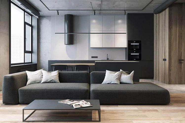 Simple Masculine Living Room